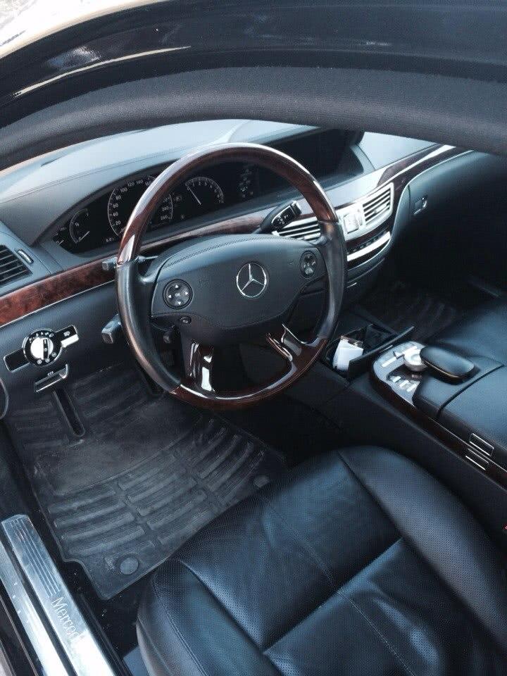 Mercedes S-klasse салон