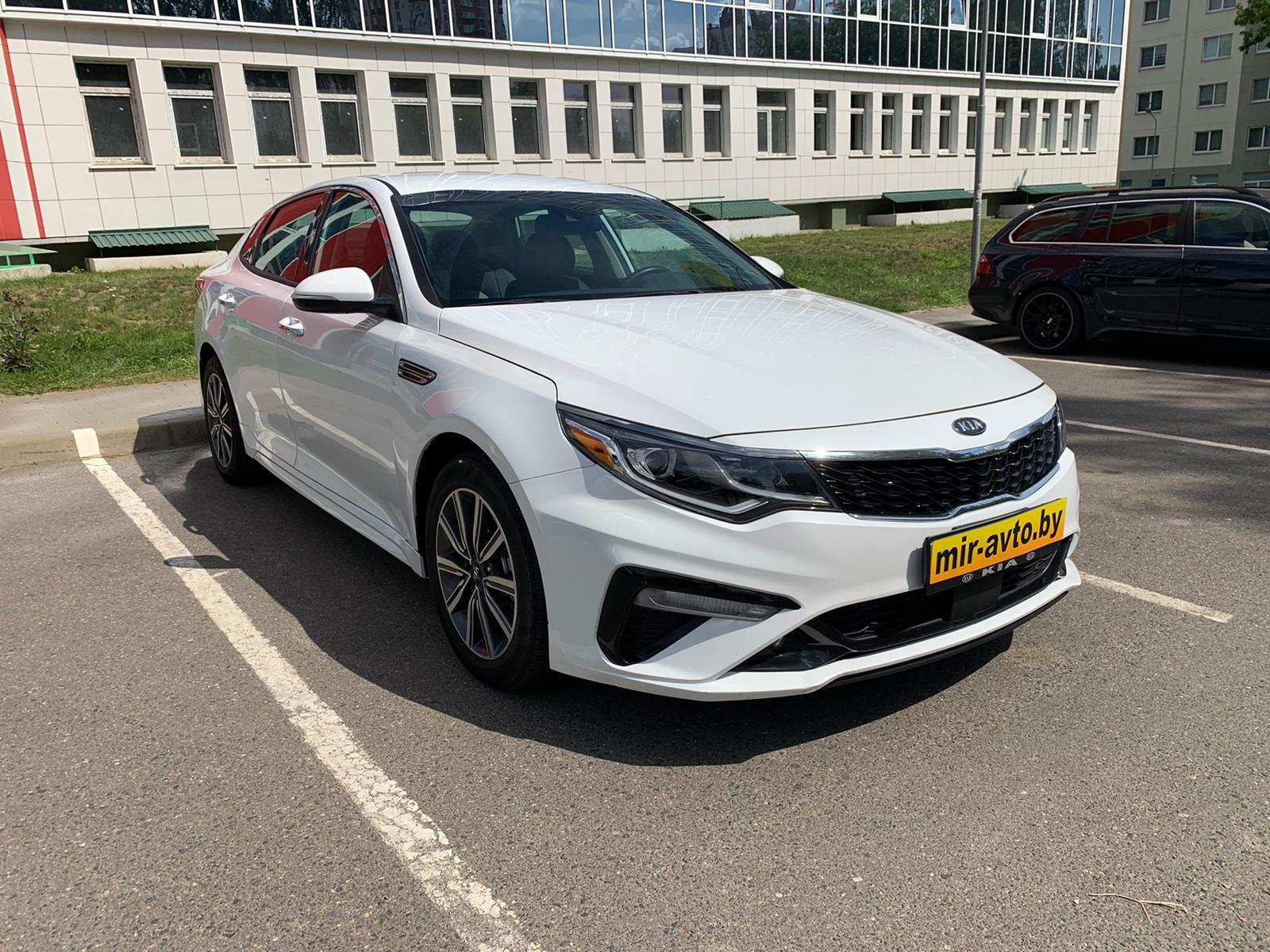Аренда и прокат авто в Минске - Kia Optima 2019